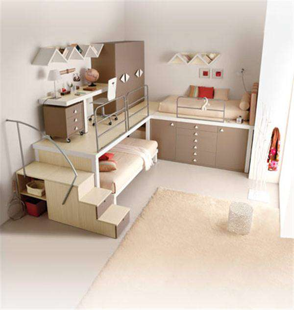 Cool Loft Beds for Girls images 7 Vanilla-Bunk-Beds-and-Lofts-for-Kids-and-Teenagers-Bedroom