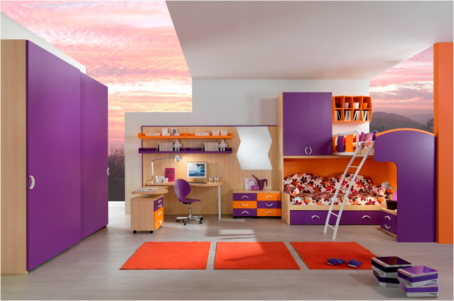 Cool Loft Beds for Girls pict 13