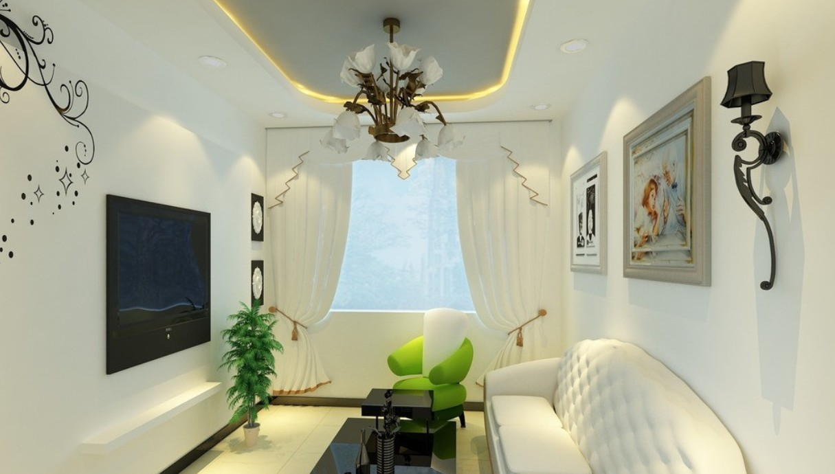 Creative Small living room design with creative sofa pictures1