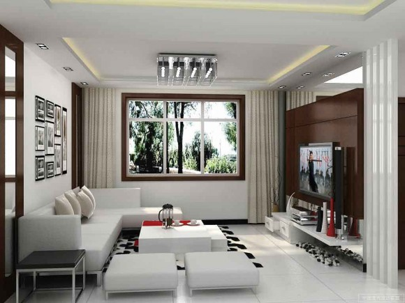 Small and simple creative living room design ideas image5
