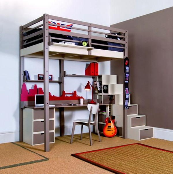 Space saving for small bedroom image small room decorating ideas - Saving space in a small bedroom concept ...