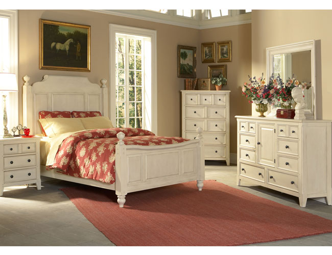 White Bedroom Furniture Ideas For A Modern Bedroom Picture 2