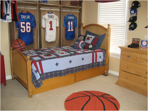 Young Boys Bedroom Designs image 9 Young Boys Sports Bedroom Themes