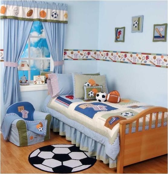 Young Boys Bedroom Designs images 5 Young Boys Sports bedroom themes