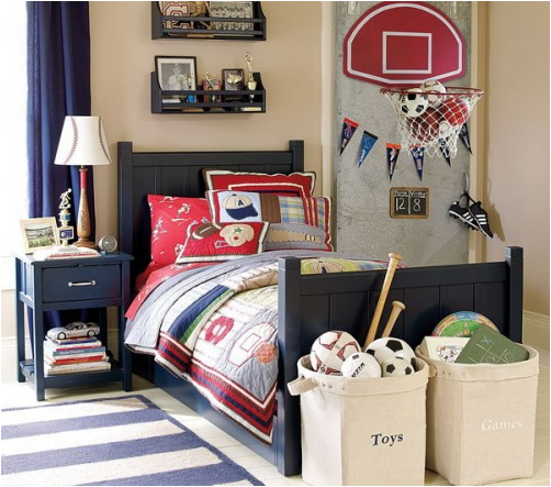 Young Boys Bedroom Designs pictures 1 Young Boys Sports Bedroom Themes