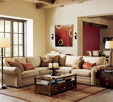 enlarge room decorating techniques living room pottery barn pictures4