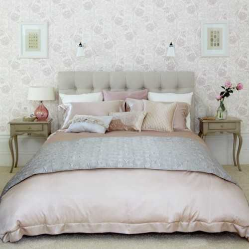 Bedroom Color Schemes Pink Bedroom Interior Design Pictures Duck Egg Blue Bedroom Furniture Simple Bedroom Paint Ideas: An Ideal Color Scheme For A Small Bedroom, A Grayed Pale