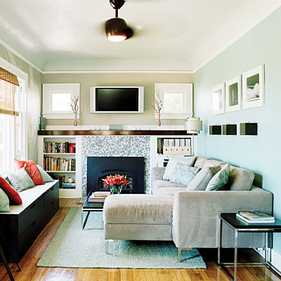 Small modern living room decorating design ideas with for Bright living room decorating ideas