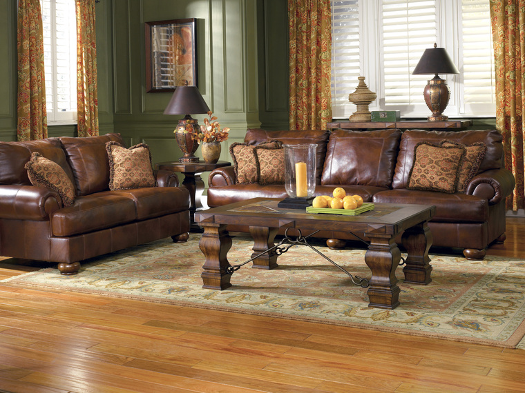 ideas for small living room with brown furniture