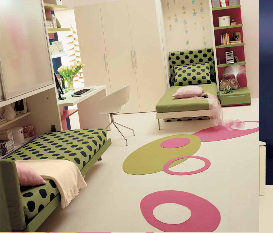Small bedroom ideas for teenagers best teen bedroom double for Small bedroom double bed ideas