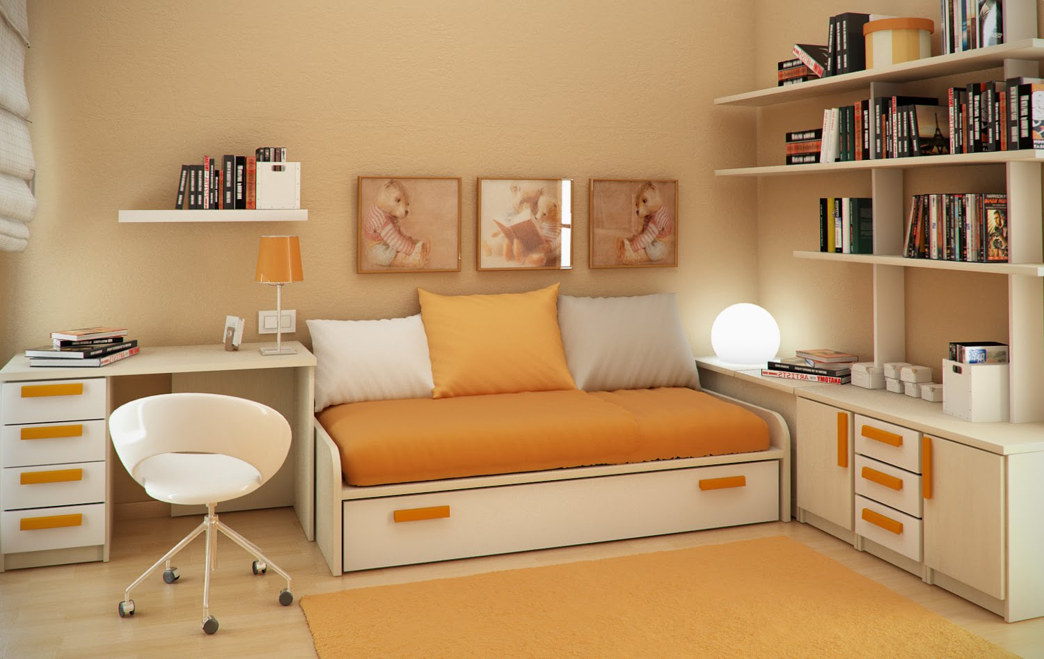 small bedroom painting ideas