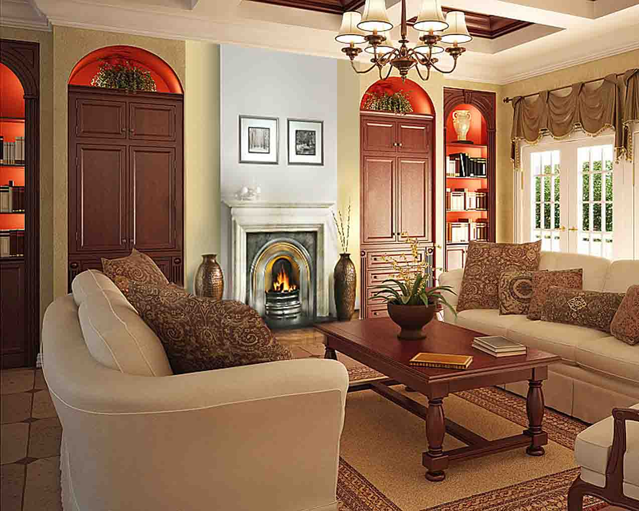 Very small living room ideas pictures4 small room for Very small apartment living room ideas