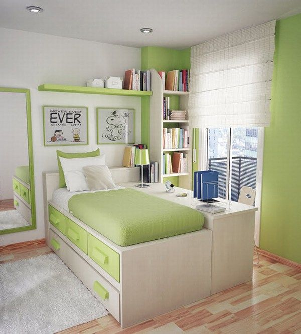 small teen room design - small teen bedroom ideas