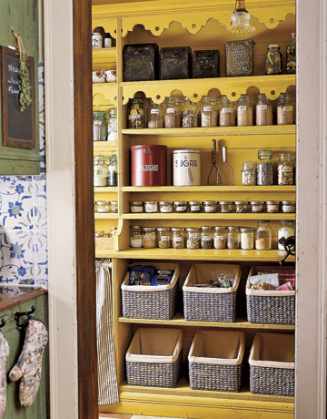 storage ideas for small spaces pantry organized shelves