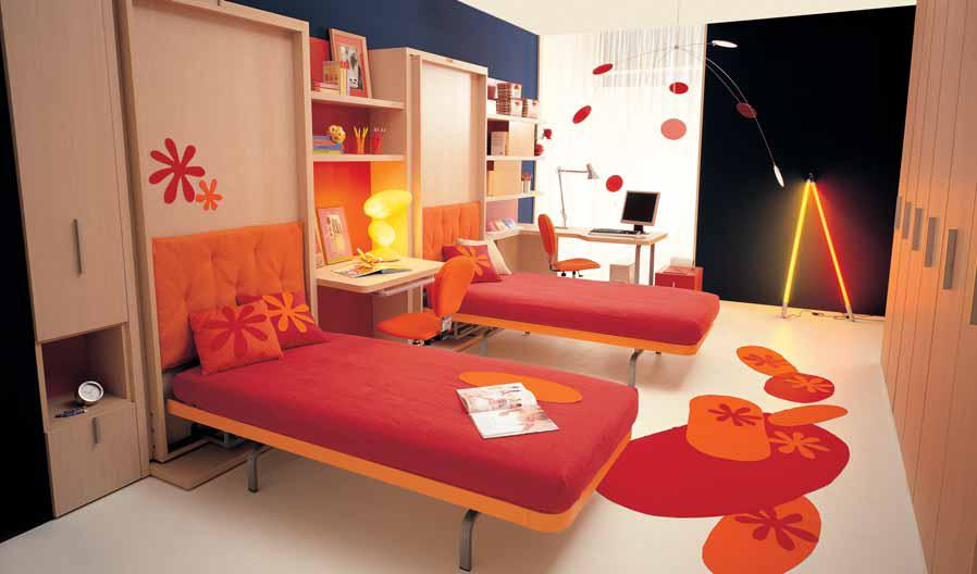 Bedroom ideas for small rooms for teenagers teen room for Teenage bedroom designs for small bedrooms