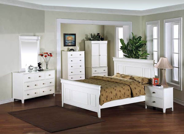 White Bedroom Furniture Ideas For A Modern Bedroom