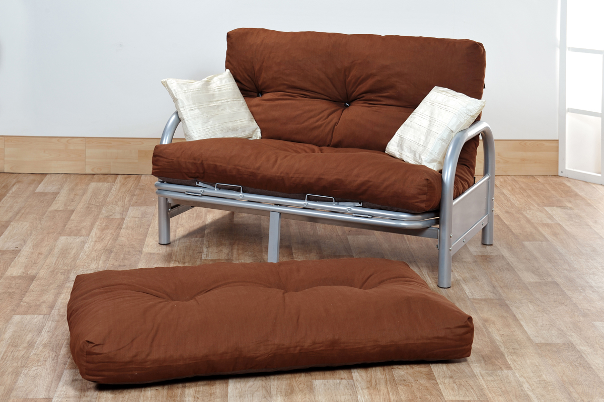 2 Seater Futon Sofa Bed For Small Spaces Image011 Small Room Decorating Ideas