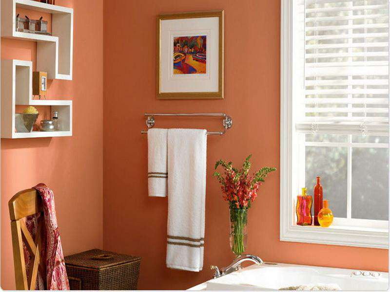 Best paint colors small bathroom ideas pictures 3 small for Paint bathroom ideas color