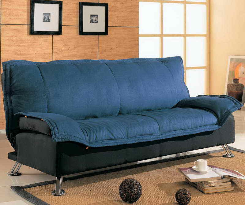 Cool Small Sofa Sleepers With Carpet Flooring Images 7