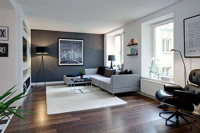 Imagine Small Apartments Living Room with modern furniture Image 8