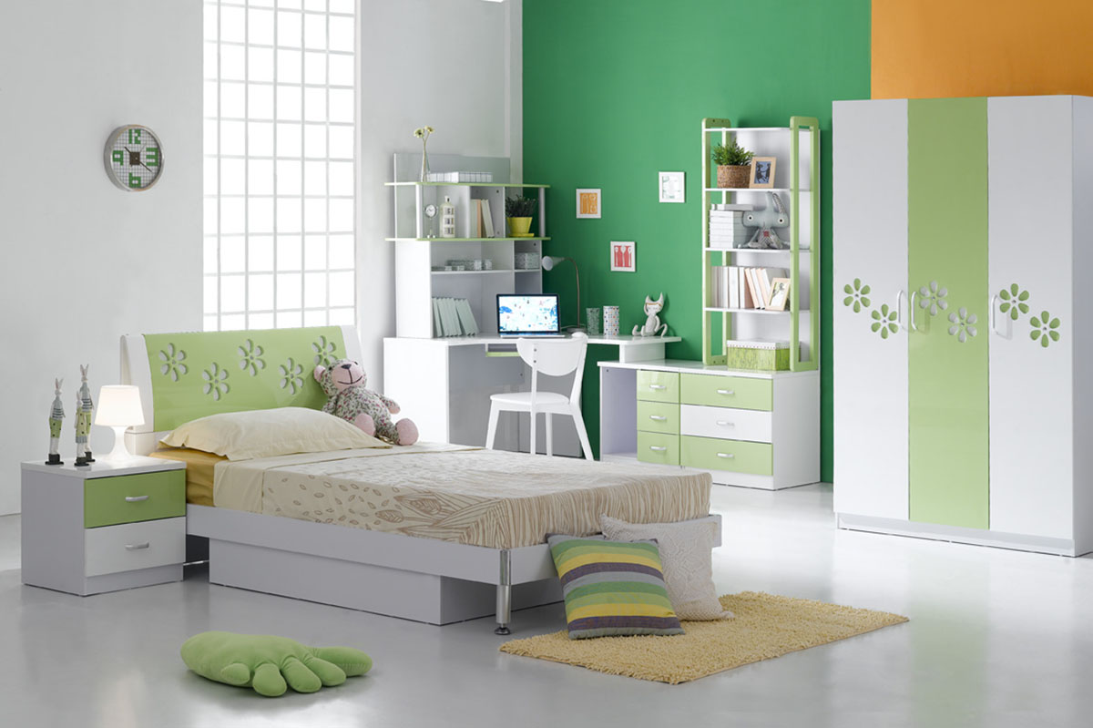 Kids Bedroom Furniture Concept for Smaller Rooms