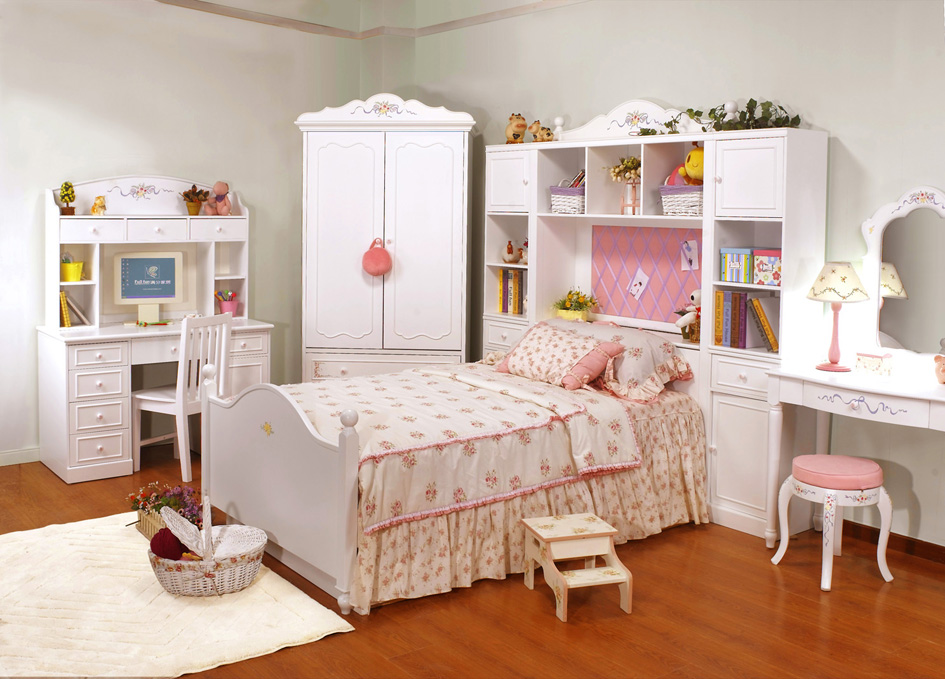 Kids Bedroom Furniture Concept For Smaller Rooms Small
