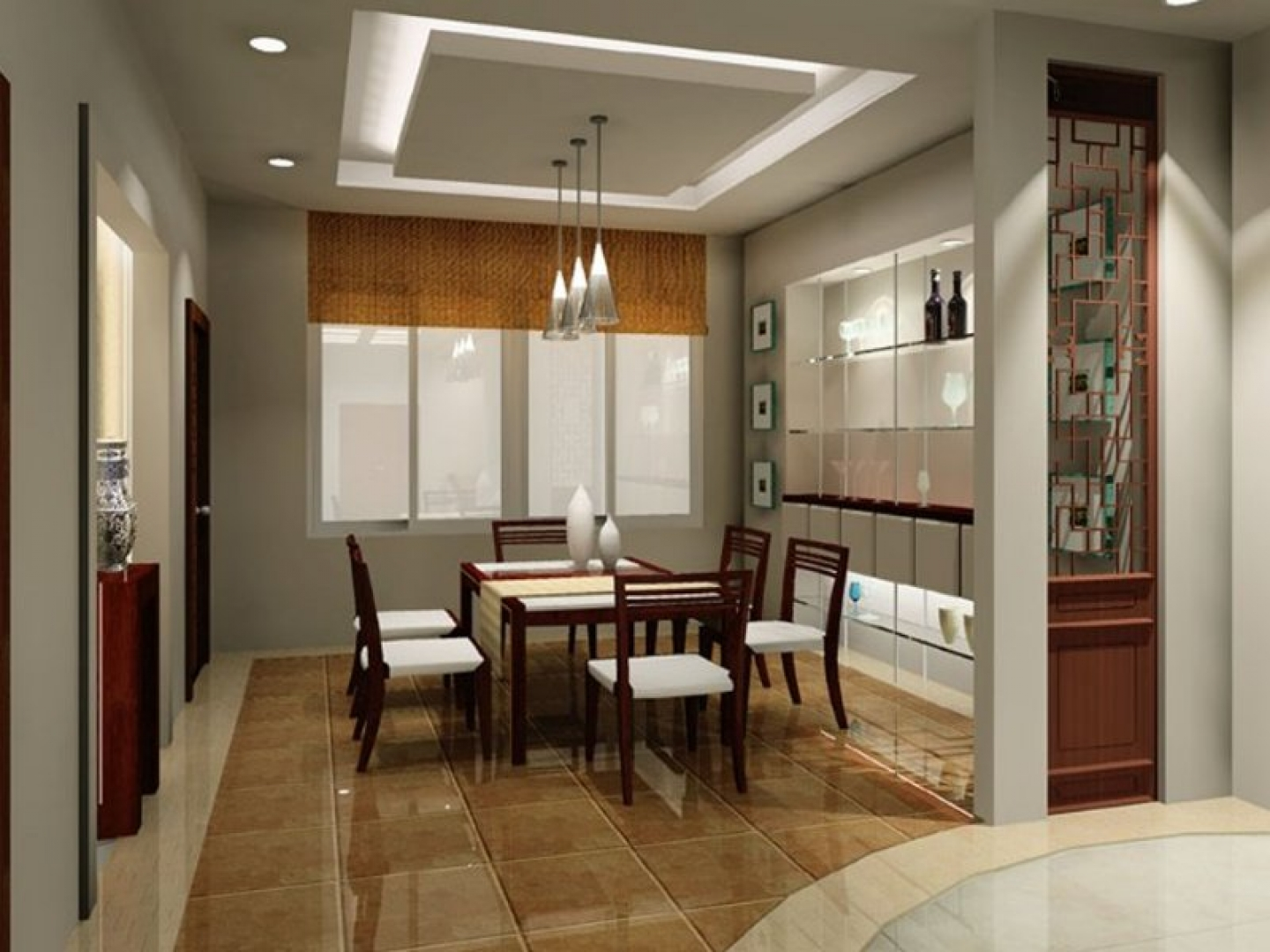Modern small dining room design ideas image 5