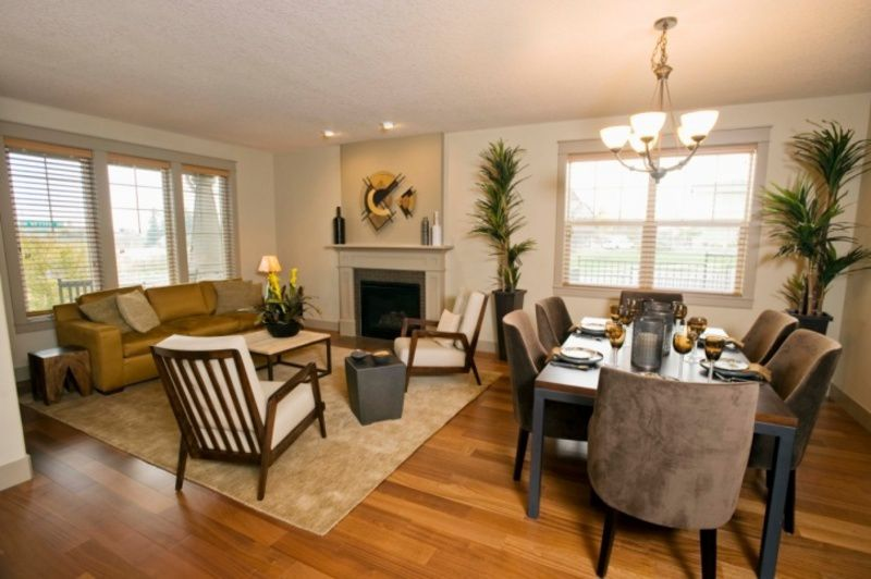 how to decorate a small living room and dining room