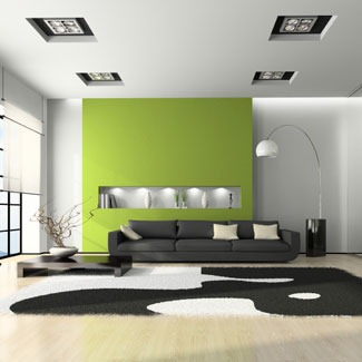 Small Living Room Entertainment Ideas green living room modern image 7