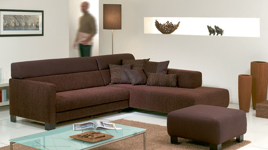 Contemporary apartment living room furniture sets picture 1 for Brown living room furniture ideas