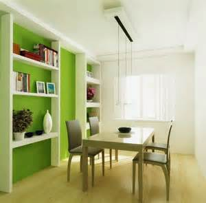 green decoration for small dining room design pictures 9
