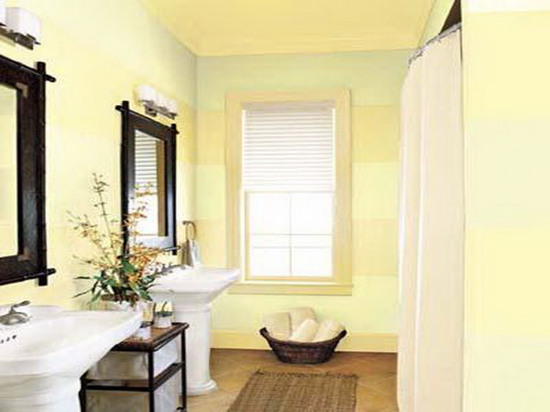 Excellent bathroom paint ideas for your bathroom walls for Paint for small bathrooms