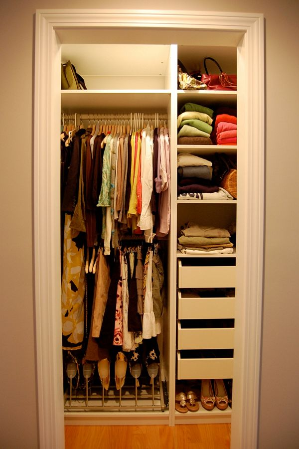 Small closet organization ideas image 01 small room decorating ideas - Clothing storage ideas for small spaces decoration ...