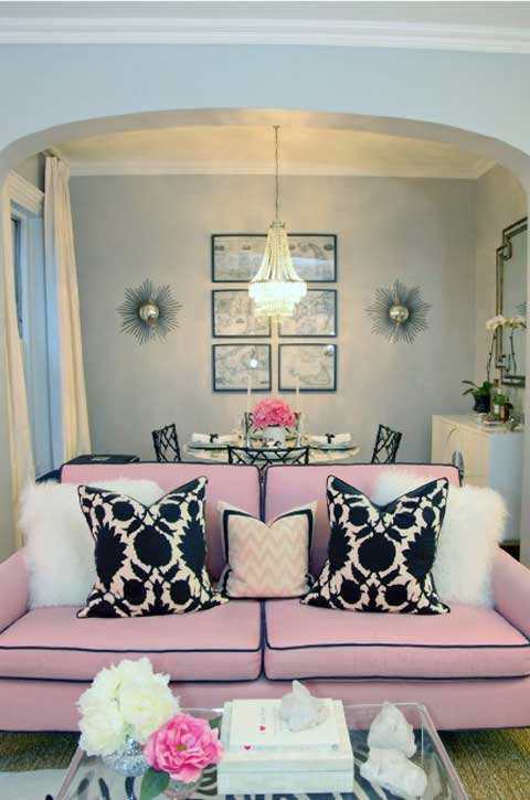 small dining room glam decor with living room pictures 14