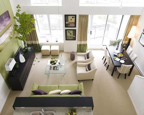 Small living room and dining room combo design ideas - Dining room and living room layout ...