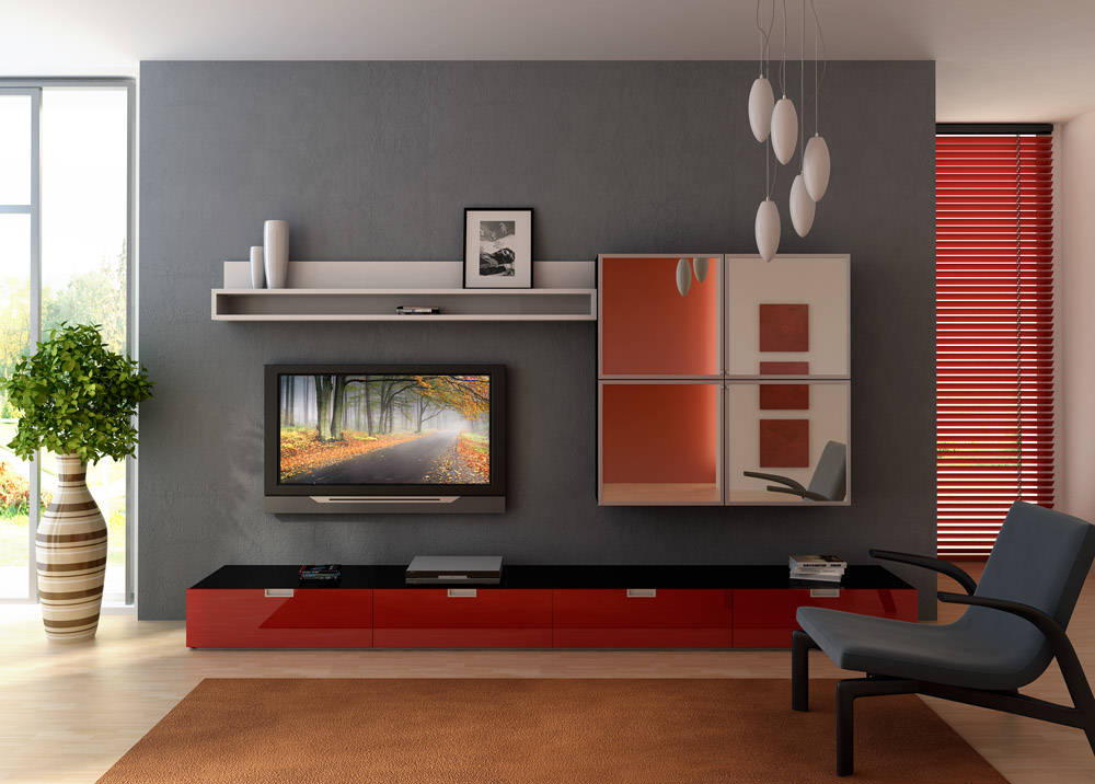 small living room entertainment center picture 03