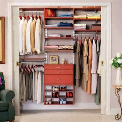 Small home organization needs efficient closet space small room decorating ideas - Small bedroom closet design ideas ...