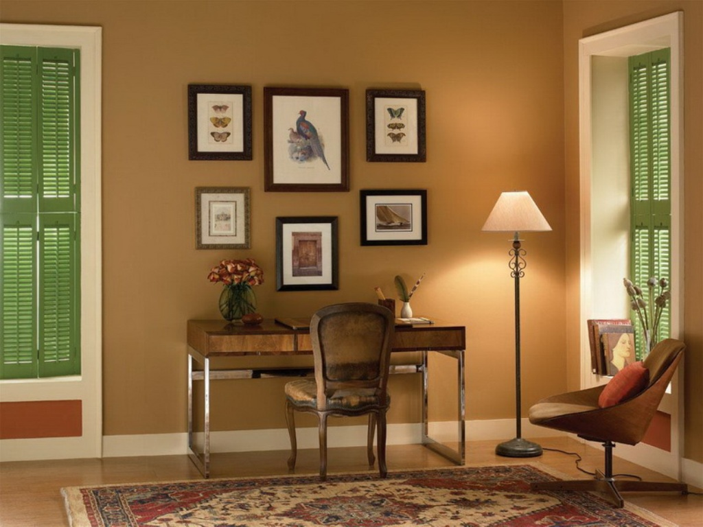 House Decorating Concepts Include Picking Paint Colors For