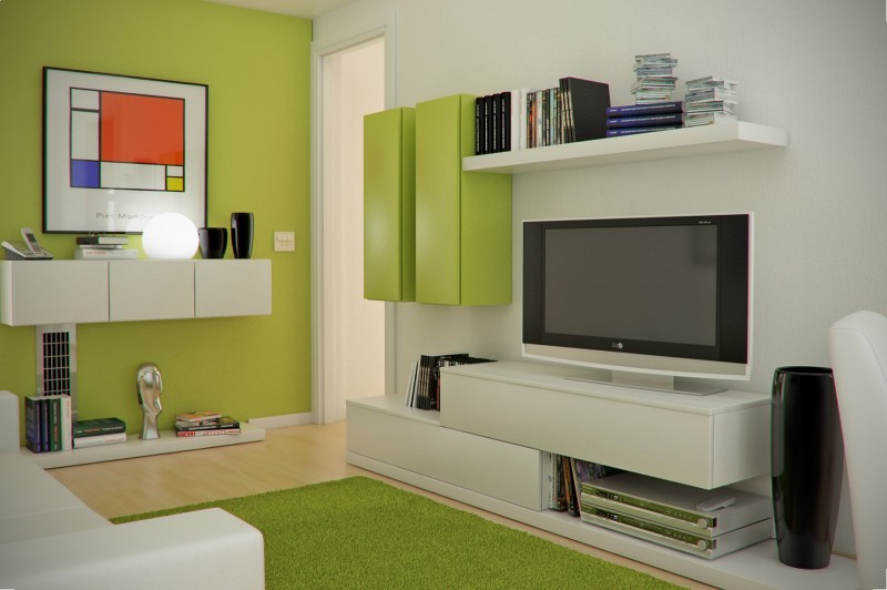 Tiny small living room design ideas image 001 small room decorating ideas - Space saving ideas for small apartment plan ...
