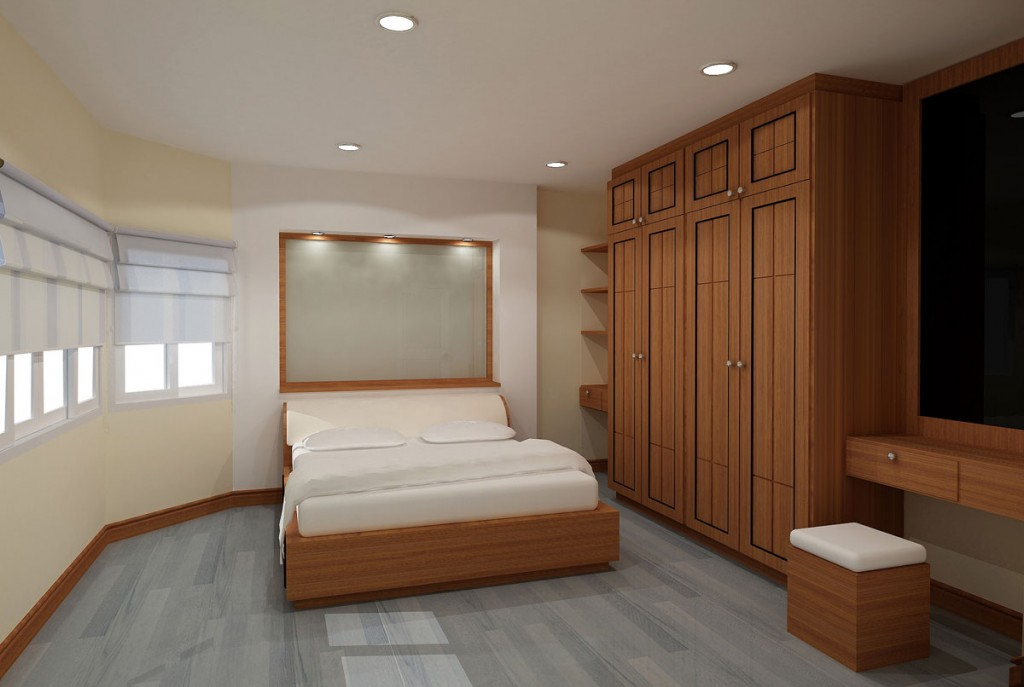 Small bedroom mirrored wardrobes small spaces ideas Design wardrobe for bedroom