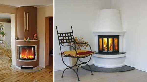 fireplaces on small space saving corner design 001