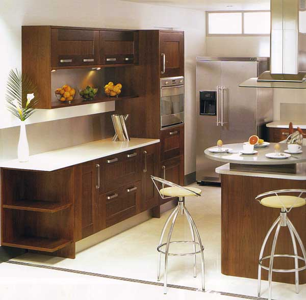 Add space to your small kitchen with these decorating for New kitchen small space