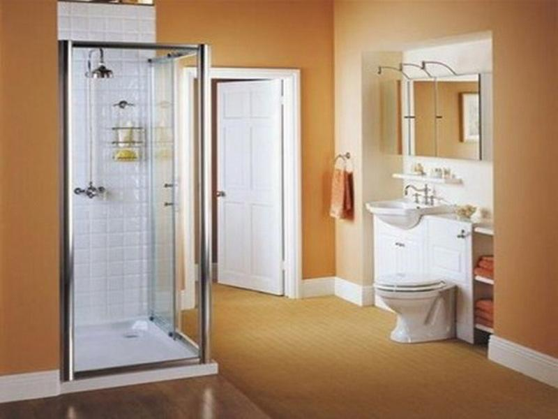 Bathroom color ideas small bathrooms 01 for Paint for small bathrooms