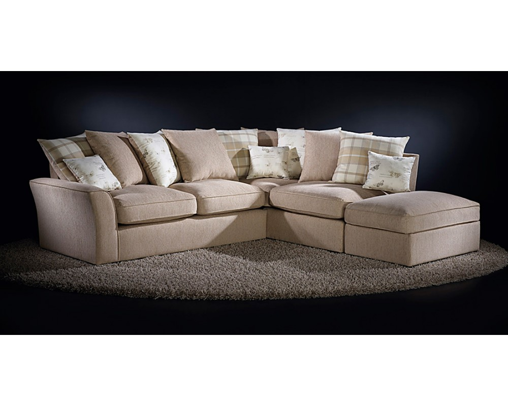 Optimize Small Room With Fabric Corner Sofas Fabric Corner Sofa For Small Spaces Images 04