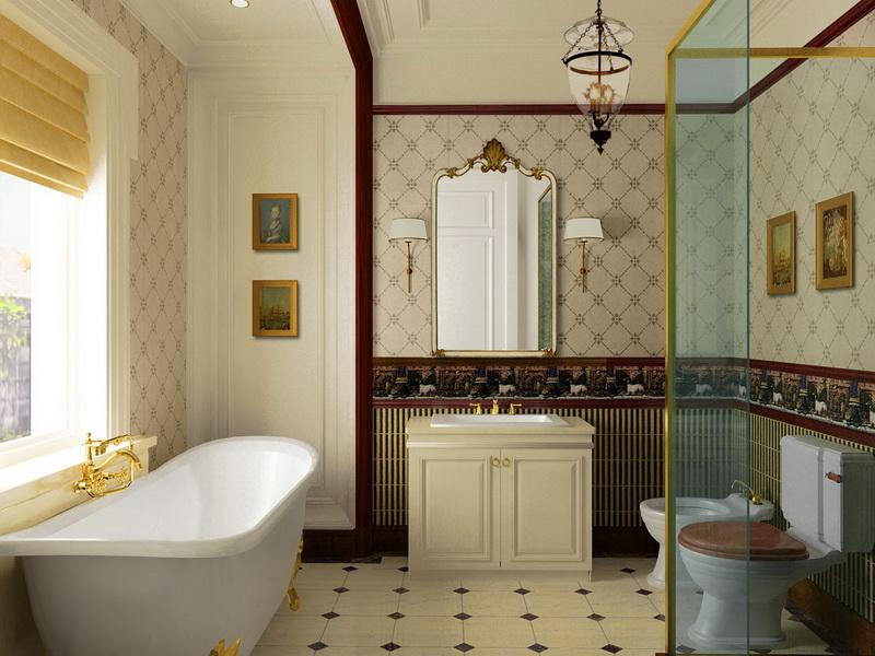 Luxury Small Bathroom Wall Color Ideas 07
