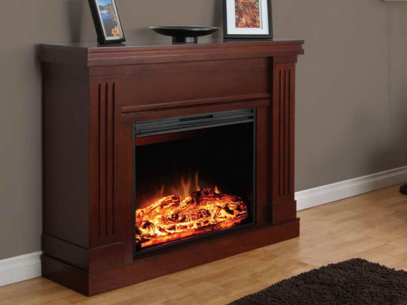 Picture of Small Electric Fireplace 01