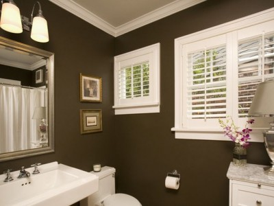 Popular Paint Colors For Small Bathrooms 09