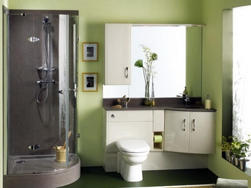 Small Bathroom Color Schemes Green 10