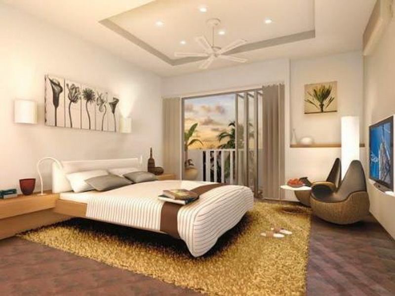 Small Master Bedroom Decorating Ideas Makeover with Gold Carpet images 04