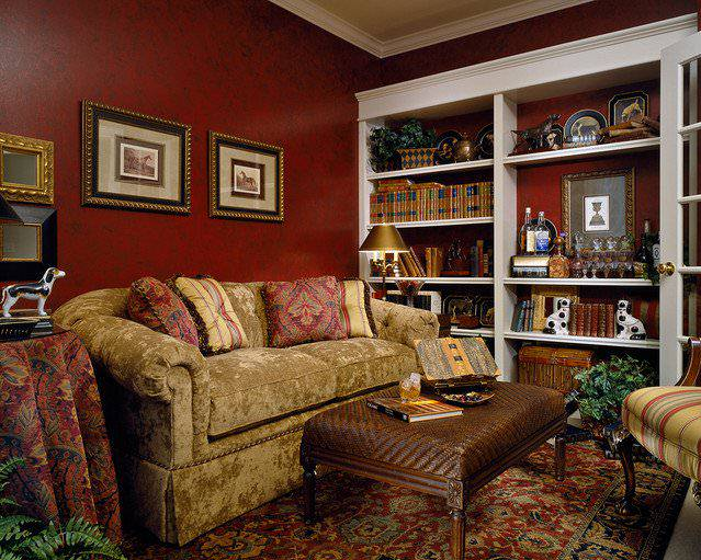 Small Sitting Room Traditional Design photos 10